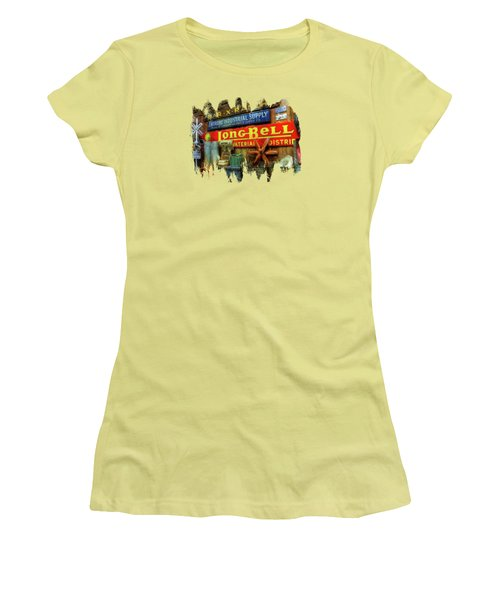 Long Bell  Women's T-Shirt (Athletic Fit)
