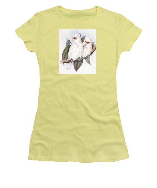 Long-billed Cockatoo Women's T-Shirt (Athletic Fit)