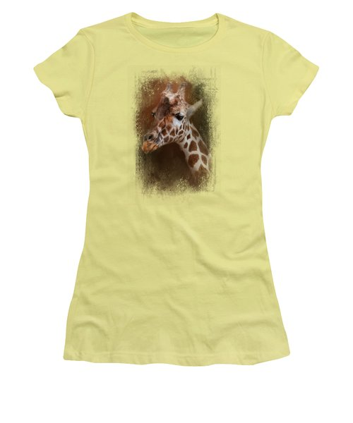 Long Neck Women's T-Shirt (Junior Cut) by Jai Johnson