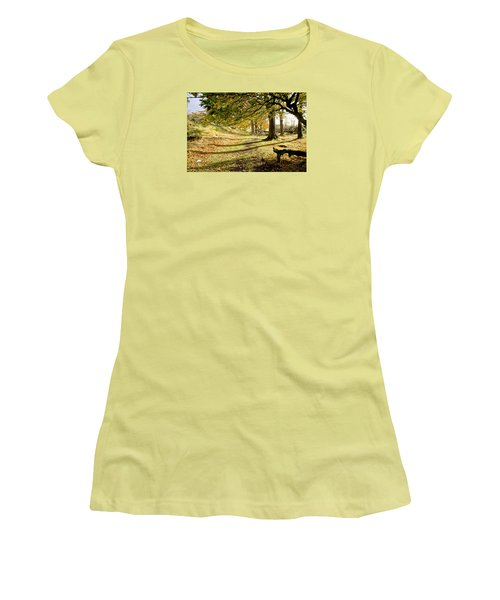 Long Shadows Of The Afternoon Women's T-Shirt (Athletic Fit)