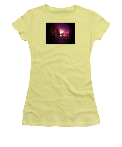 Longing For Him Women's T-Shirt (Athletic Fit)
