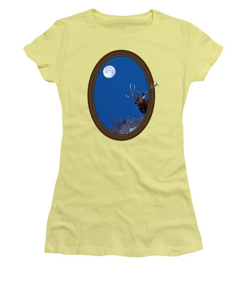 Women's T-Shirt (Junior Cut) featuring the photograph Looking Beyond by Shane Bechler