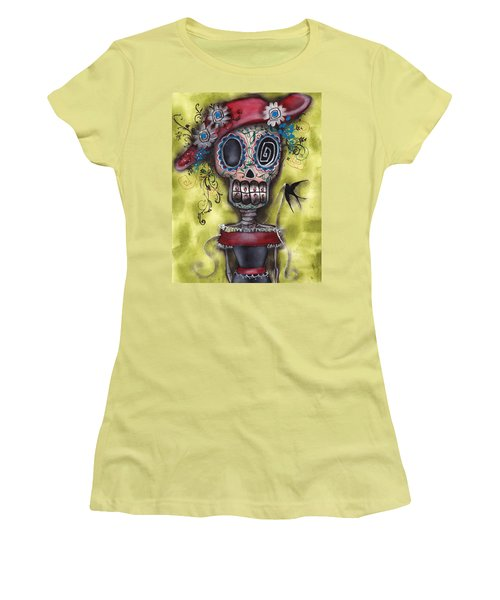 Looking For Love Women's T-Shirt (Junior Cut) by  Abril Andrade Griffith