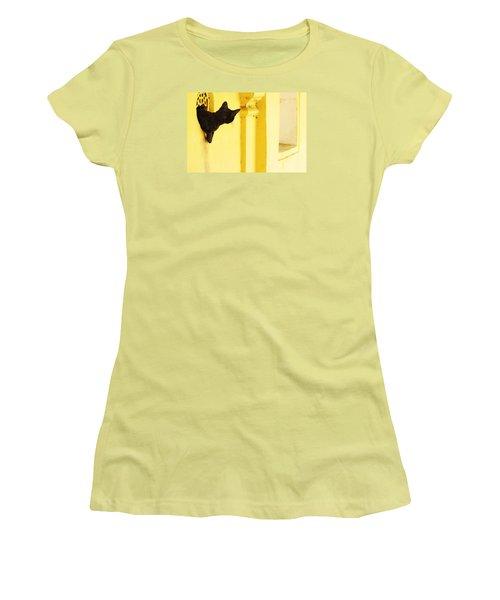 Looking For Mouse Women's T-Shirt (Junior Cut) by Prakash Ghai