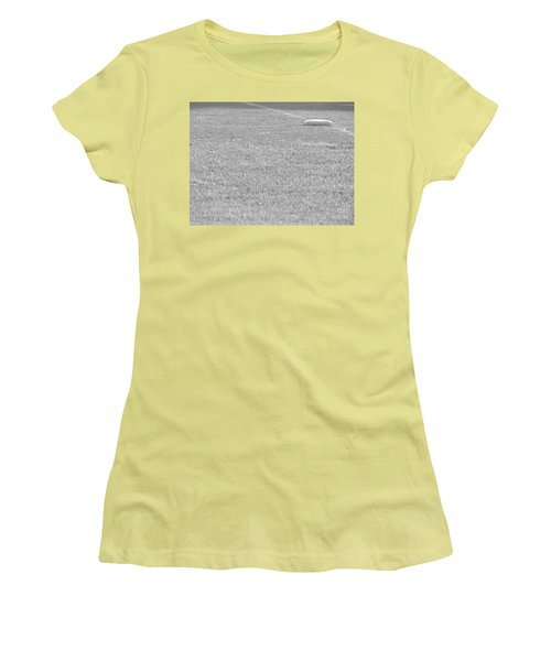 Looking In To Third Base Women's T-Shirt (Athletic Fit)