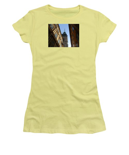 Looking Up From A Stockholm Street Women's T-Shirt (Junior Cut) by Margaret Brooks
