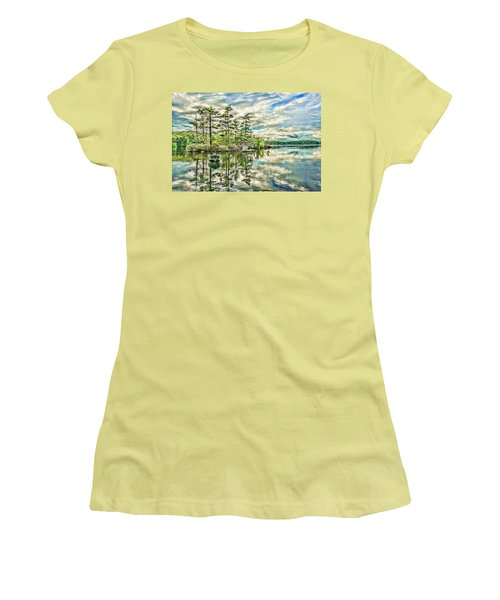 Loon Island Women's T-Shirt (Athletic Fit)