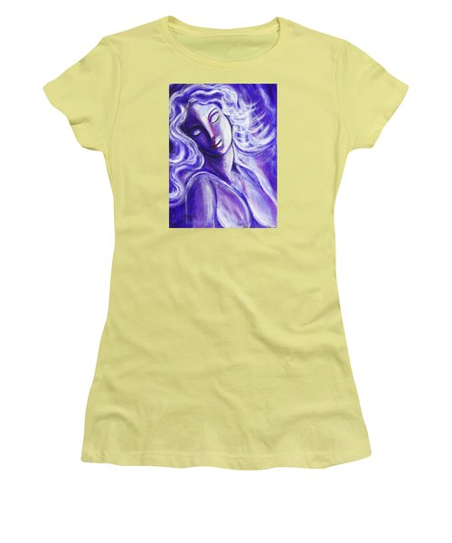 Lost In Thought Women's T-Shirt (Junior Cut) by Anya Heller