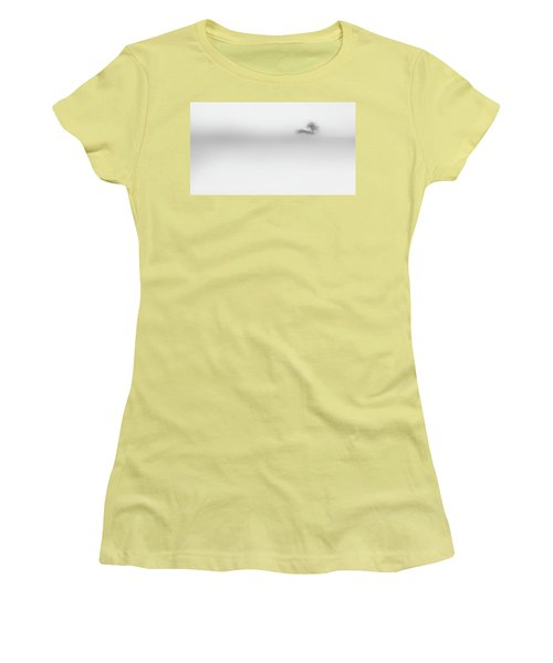 Women's T-Shirt (Junior Cut) featuring the photograph Lost Island by Bill Wakeley