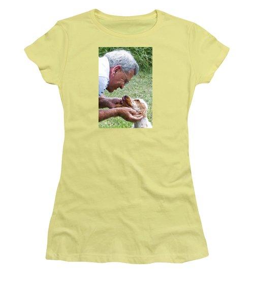 Love At First Sight Women's T-Shirt (Junior Cut) by Susan Molnar
