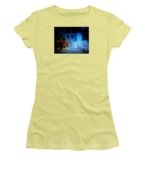 Love In San Fele Women's T-Shirt (Junior Cut) by Bill OConnor