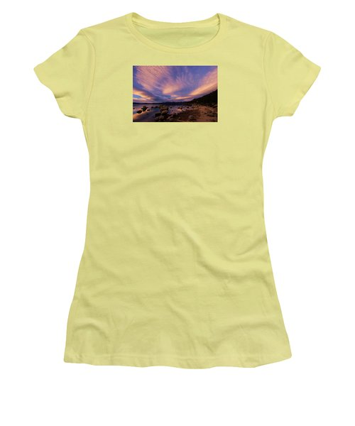 Love Is A Rocky Road Women's T-Shirt (Junior Cut) by Sean Sarsfield