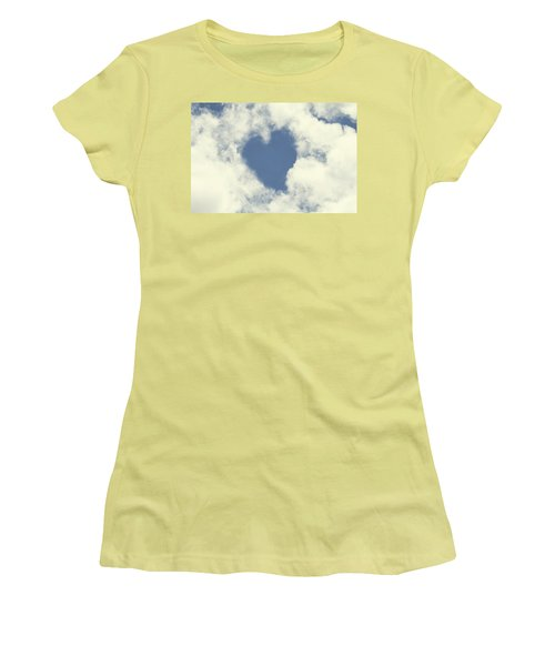 Love Is In The Air Women's T-Shirt (Junior Cut) by Peggy Collins