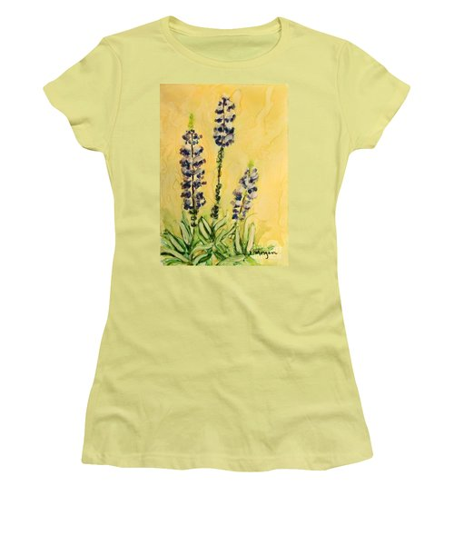 Lovely Lupines Women's T-Shirt (Athletic Fit)