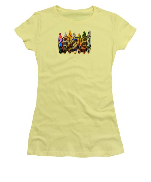 Lovin' 808 Women's T-Shirt (Athletic Fit)