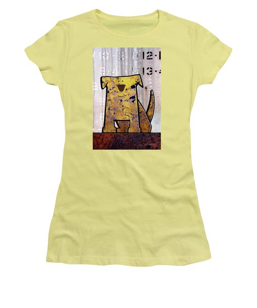 Loyal Women's T-Shirt (Junior Cut) by Joan Ladendorf