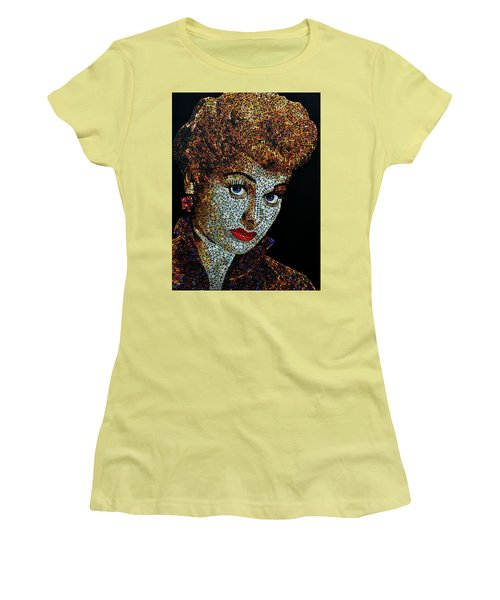 Lucille Ball  Women's T-Shirt (Athletic Fit)