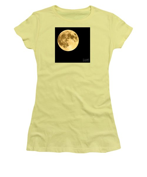 Lunar Close Up Women's T-Shirt (Junior Cut)