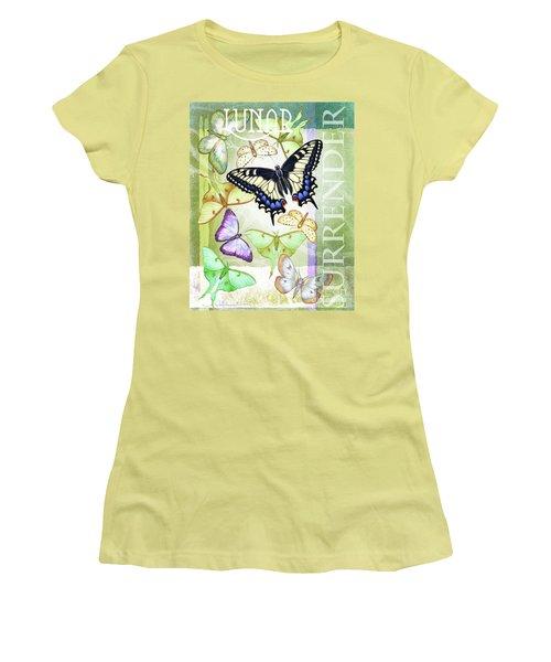 Lunar Surrender Women's T-Shirt (Athletic Fit)