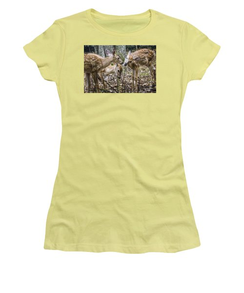 Lunch With Friends Women's T-Shirt (Athletic Fit)