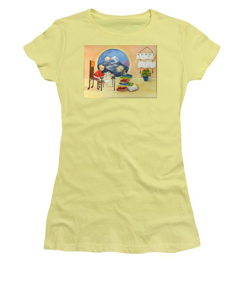 MA  Women's T-Shirt (Athletic Fit)