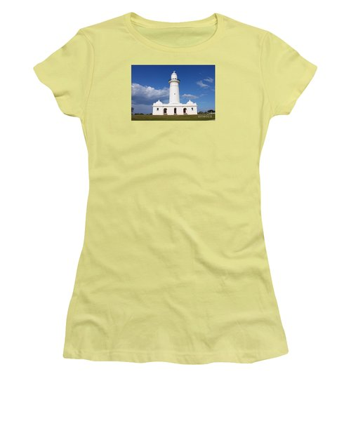 Macquarie Light House Women's T-Shirt (Junior Cut) by Bev Conover
