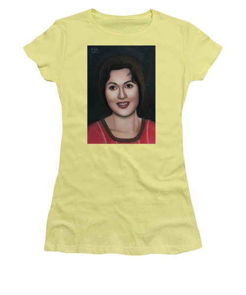 Madhubala - The Angel Of India Women's T-Shirt (Athletic Fit)