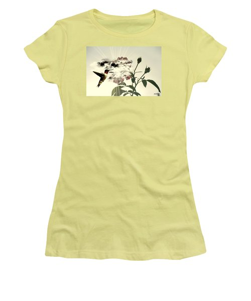 Magic Flower Women's T-Shirt (Athletic Fit)