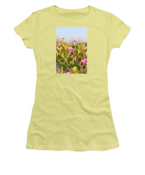 Magic Garden Women's T-Shirt (Junior Cut) by LeeAnn Kendall