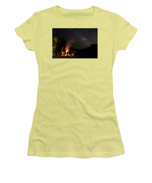 Magical Bonfire Women's T-Shirt (Athletic Fit)