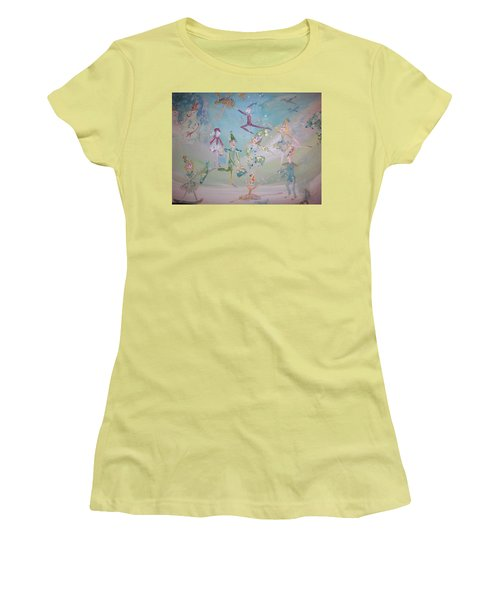 Magical Elf Dance Women's T-Shirt (Junior Cut) by Judith Desrosiers