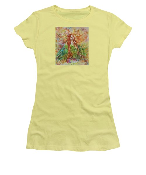 Magical Song Of Autumn Women's T-Shirt (Athletic Fit)