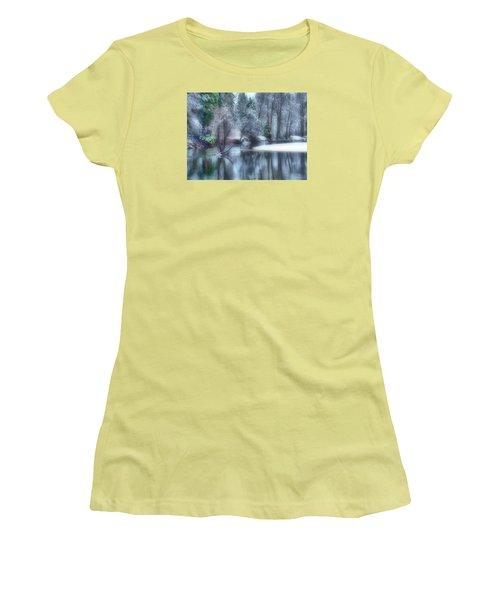 Magical Touch To Yosemite Women's T-Shirt (Junior Cut) by Josephine Buschman