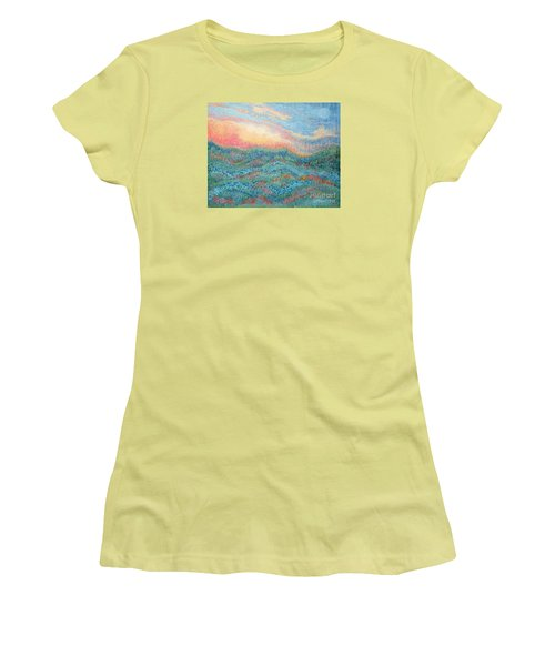 Magnificent Sunset Women's T-Shirt (Junior Cut) by Holly Carmichael