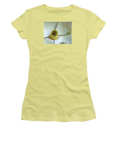 Magnolia Heart Women's T-Shirt (Junior Cut) by Lisa L Silva