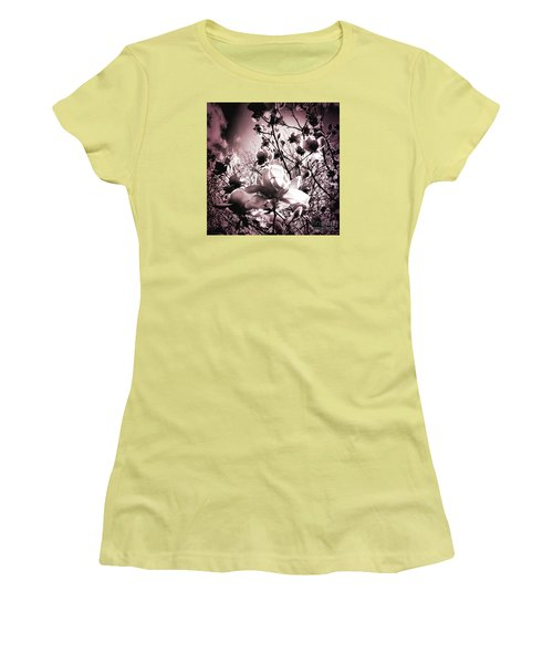 Magnolia Pink Women's T-Shirt (Athletic Fit)