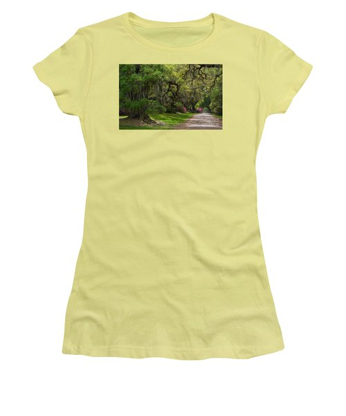 Magnolia Plantation And Gardens Women's T-Shirt (Junior Cut)