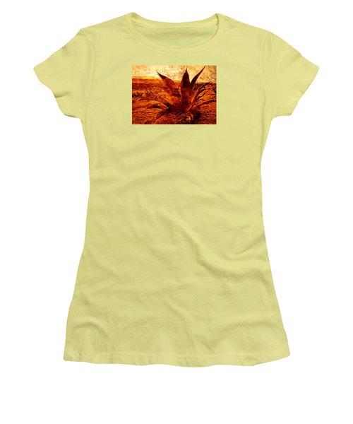 Maguey Agave Women's T-Shirt (Junior Cut) by J- J- Espinoza
