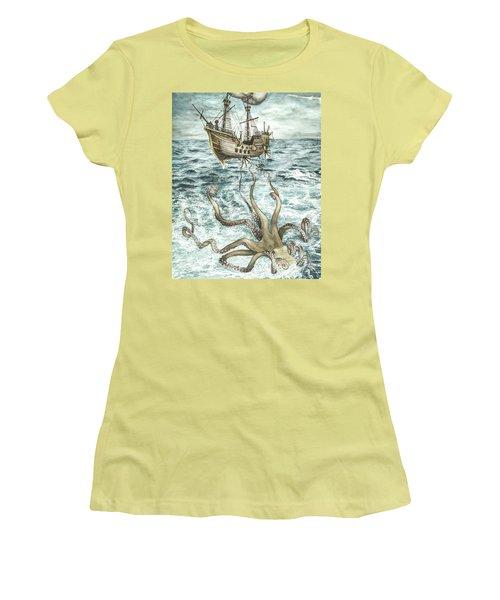 Maiden Voyage Women's T-Shirt (Junior Cut) by Arleana Holtzmann