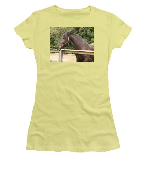 Majestic Horse  Women's T-Shirt (Athletic Fit)