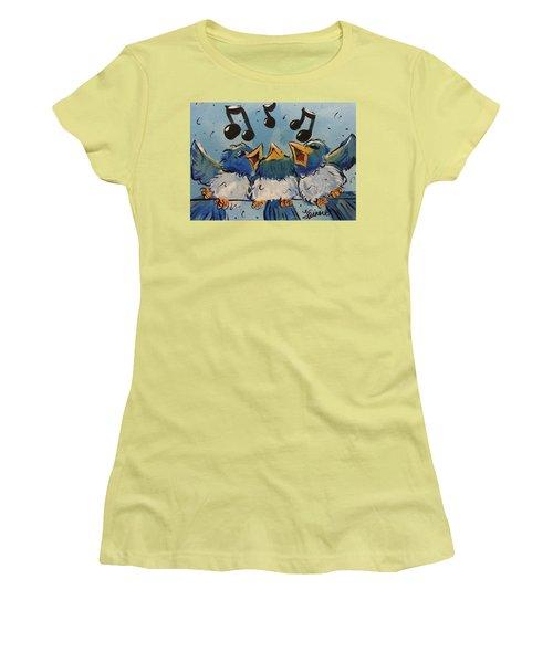 Make A Joyful Noise Women's T-Shirt (Athletic Fit)