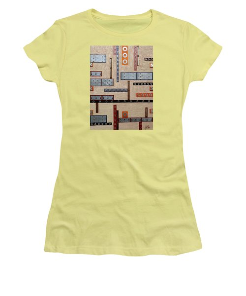 Make Mine Metal Women's T-Shirt (Junior Cut) by Tara Hutton