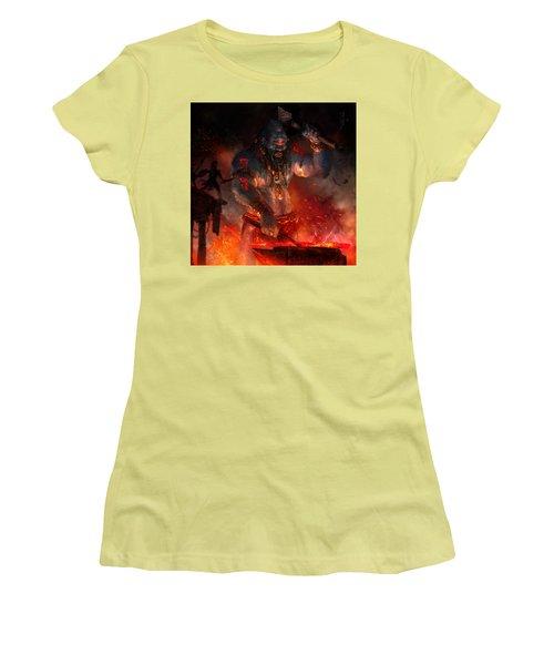 Maker Of The World Women's T-Shirt (Junior Cut) by Ryan Barger