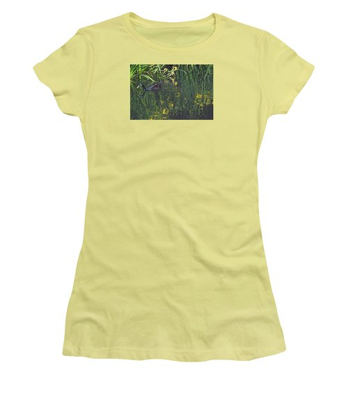 Mallard In The Marsh Women's T-Shirt (Athletic Fit)