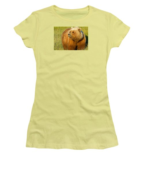 Mama Bear Women's T-Shirt (Athletic Fit)