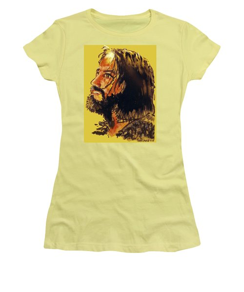 Man Of Sorrows Women's T-Shirt (Athletic Fit)