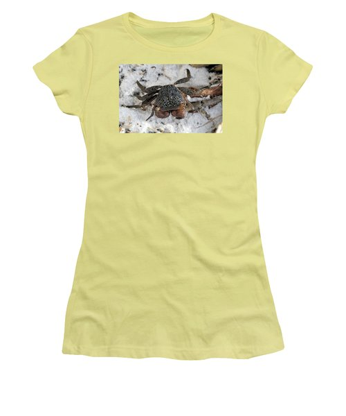 Mangrove Tree Crab Women's T-Shirt (Athletic Fit)