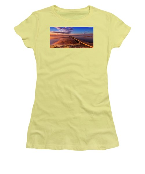 Manning Point 666 Women's T-Shirt (Junior Cut) by Kevin Chippindall