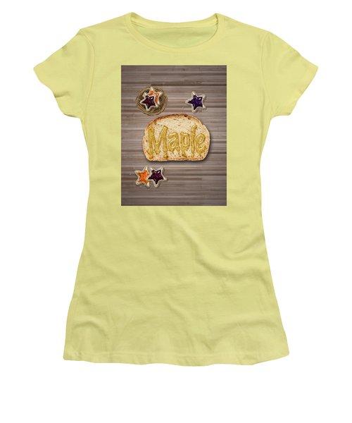 Maple Women's T-Shirt (Junior Cut) by La Reve Design