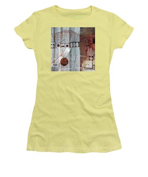 Maps #20 Women's T-Shirt (Junior Cut) by Joan Ladendorf